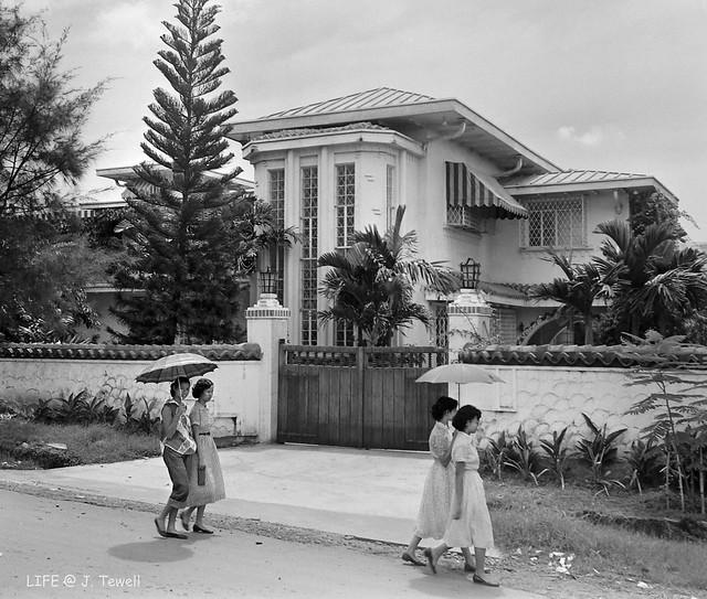 Unidentified home, Manila, Philippines, Sept. 1953 (1)