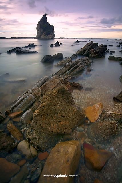 Tanjung Layar - Sawarna Beach
