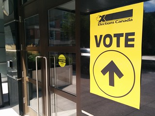 Elections Canada polling station 2015   by id4ro
