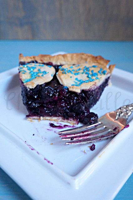 Blueberry Pie dessert -edit