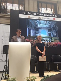 Padiglione Monferrato per Expo, Galleria Meravigli, 4 settembre 2015   by flavagno