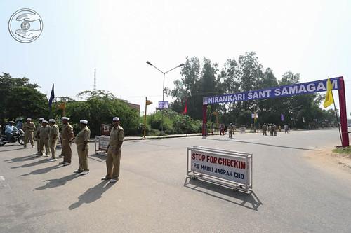 Sewa Dal on duty
