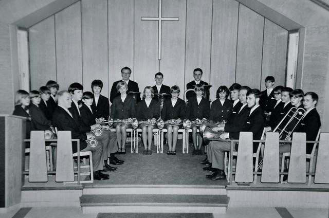 Åsenhöga Missionsförsamlings Musikkår 1967