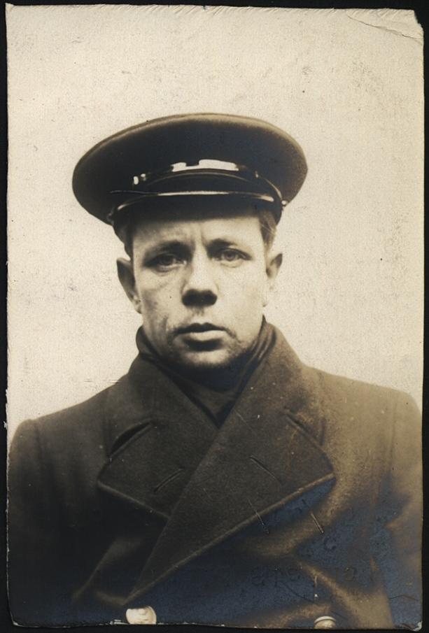 Reginald Stains alias Brown, chief steward, arrested for false pretences