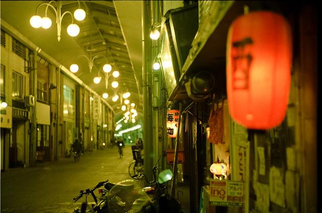 night view, Onomichi