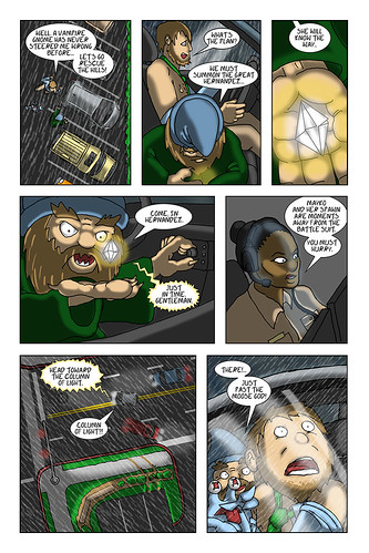 Commuter 3 Pg. 15 | by Mike Riley