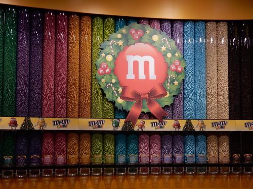 Las Vegas - M&M store