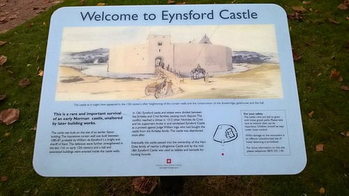 Welcome to Eynsford Castle Kent.