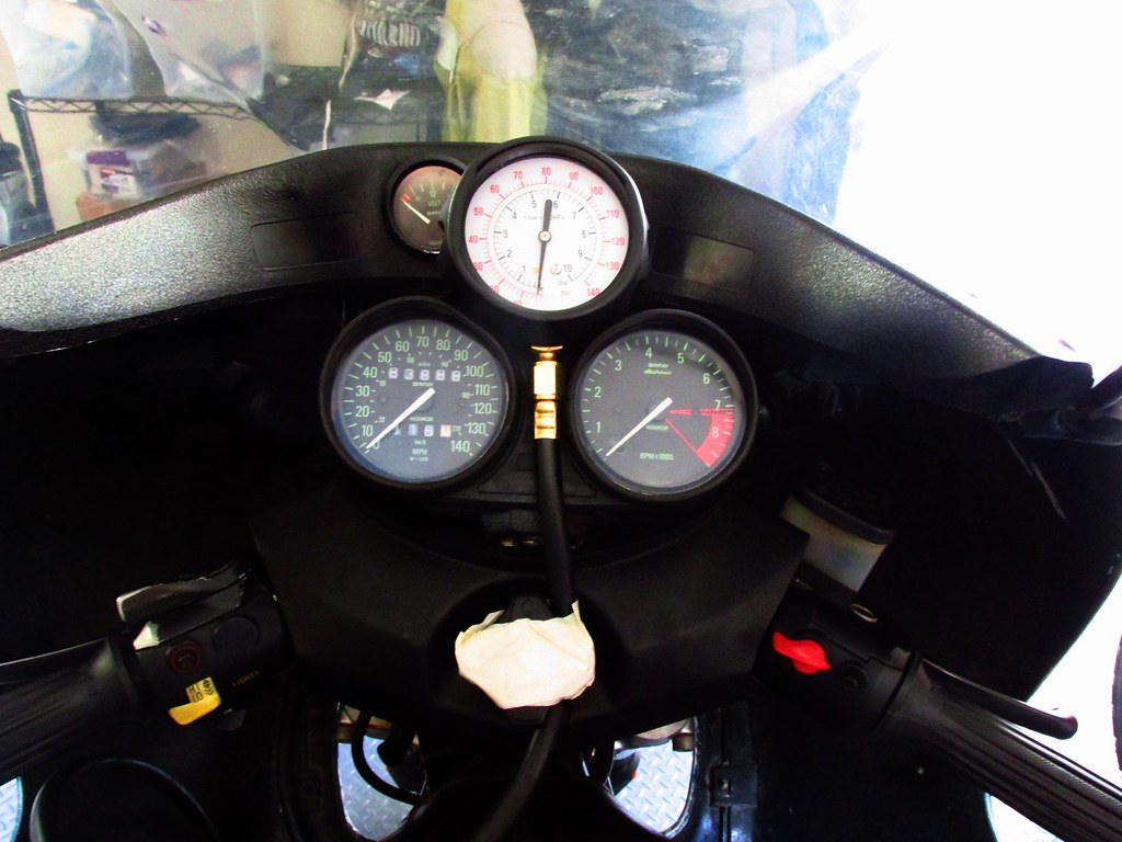 Attaching Oil Test Gauge to Instrument Cluster |   | Brook Reams