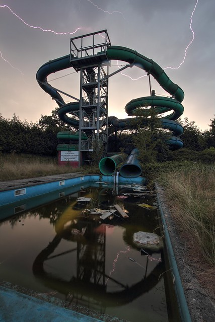 Bowling Alley and Water Slides (Explore 2015-08-22)