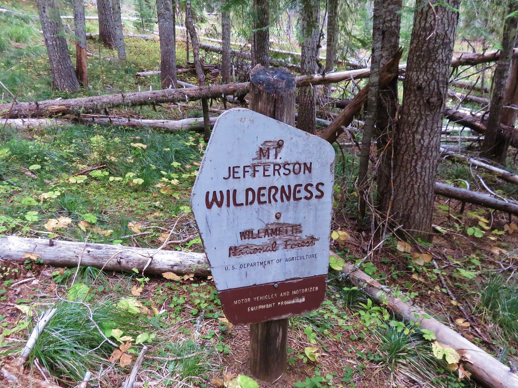 First wilderness sign we'd seen that looked like this