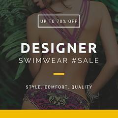 Classic Designer Swimwear Collection SALE