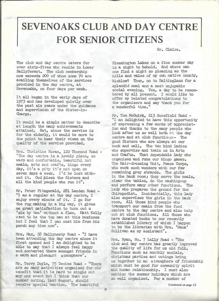 Ballyfermot Roundabout Monthly Parish Magazine May 1979 Th