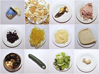 #9 - Love Food, Make Waste (£11.16) Take a photograph that will embarrass you and make your audience uncomfortable. – Erik Kessels one weeks worth of my food waste. | by Emma Georgiou