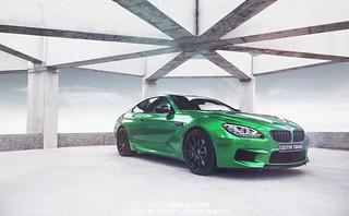 Green BMW M6
