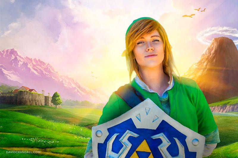 Link Cosplay from Legend of Zelda