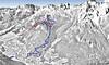 Mapa Val di Fassa - Catinaccio