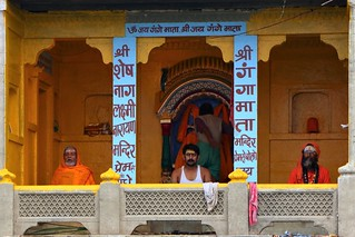 Morning prayer  Varanasi, India   Lalita Ghat   Juan Antonio Segal