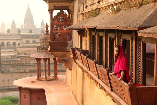 Jahangir Mahal. Orchha, India
