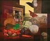 Stillleben 1 Frosch 2 Fotos 3 Schmetterlinge 61x73