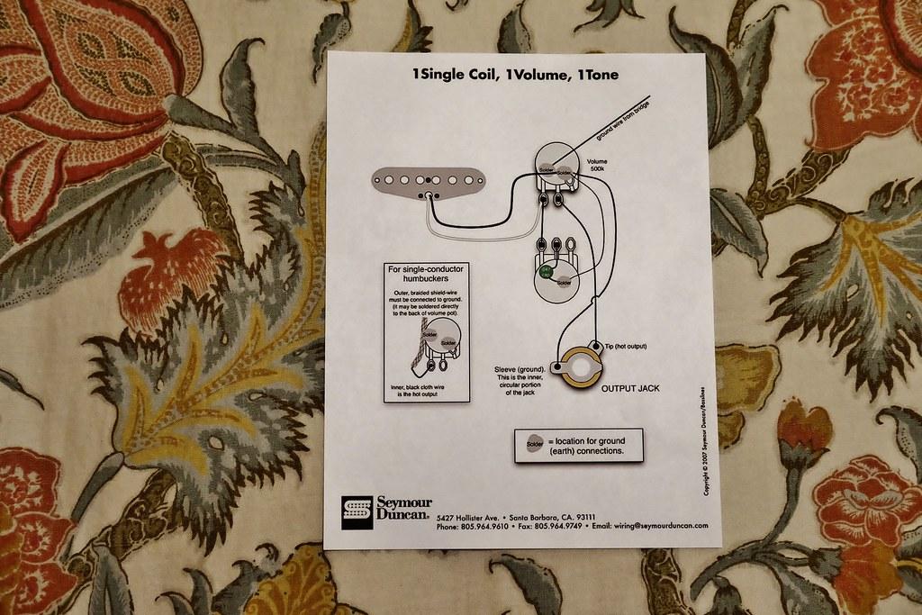 cigar box guitar wiring diagram- | by burnt dirt
