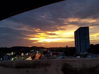 Puerto Rico's Sunset/ El atardecer de Puerto Rico
