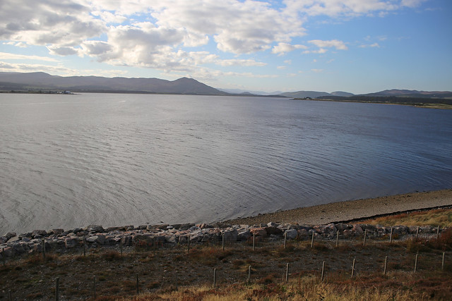 The Dornoch Firth near Dornoch
