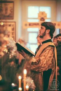 Литургия в храме Дмитрия Солунского 150