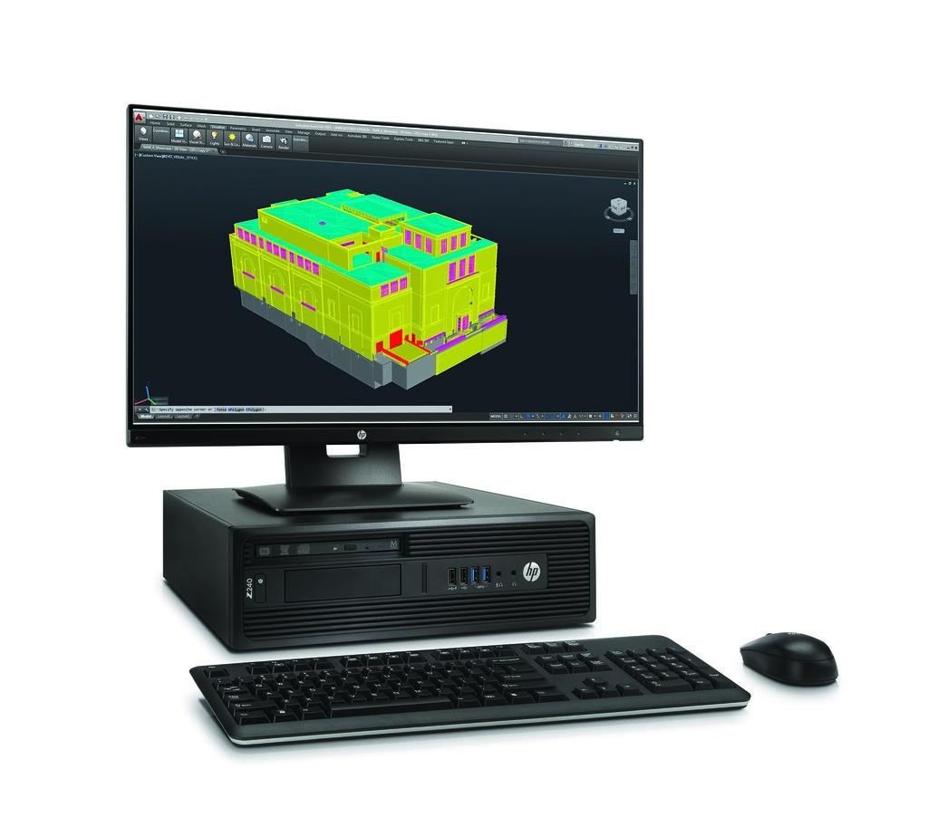 HP Z240 SFF Workstation with HP Z23n Display | HP Deutschland | Flickr