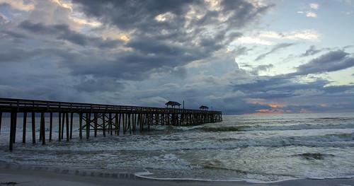 sunrise pier florida fishingpier atlanticshore beachatsunrise pieratsunrise ameliaisflorida floridaatsunrise ameliaisatsunrise