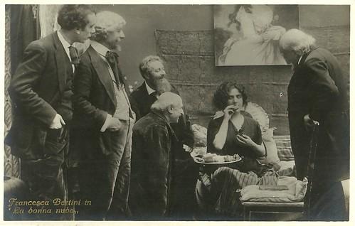 Francesca Bertini in La donna nuda (1922)