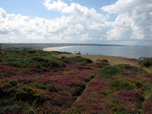 View back to St Ouen's Bay