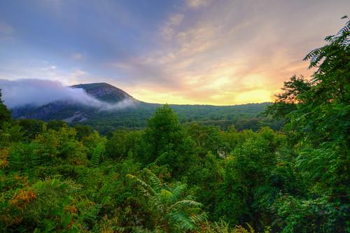 new water sunrise landscape pennsylvania nj gap mount pa penn jersey delaware tammany delawarewatergap watergap mounttammany