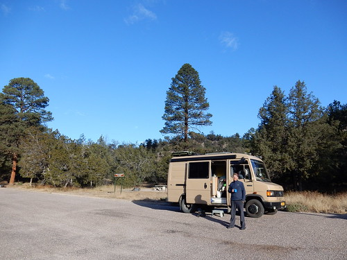 Gila Cliff Dwellings NM - camping - 0 graden
