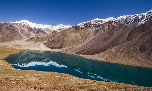 Chandra Tal lake in Spiti
