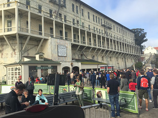 Alcatraz Arrival
