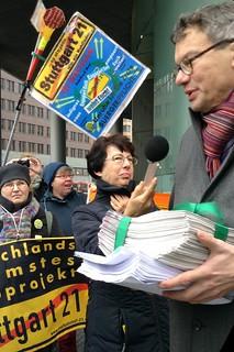 Protest bei DB-Aufsichtsratssitzung – 16.12.2015