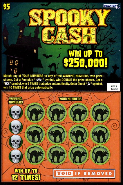 Flickr The Halloween Lottery Tickets Pool