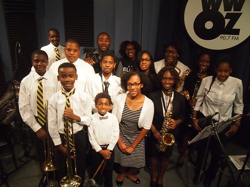 KIPP Believe College Prep Jazz Ensemble at WWOZ for Cuttin Class