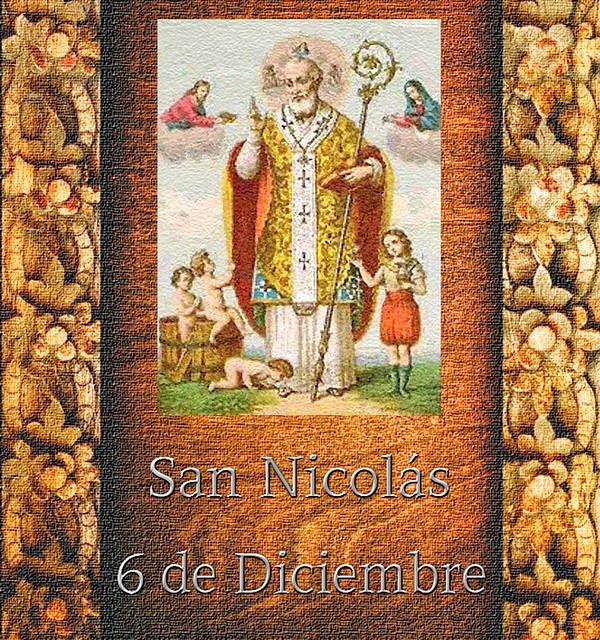 San Nicolás 6 Diciembre.(†Dedicado  al P.Cotallo)