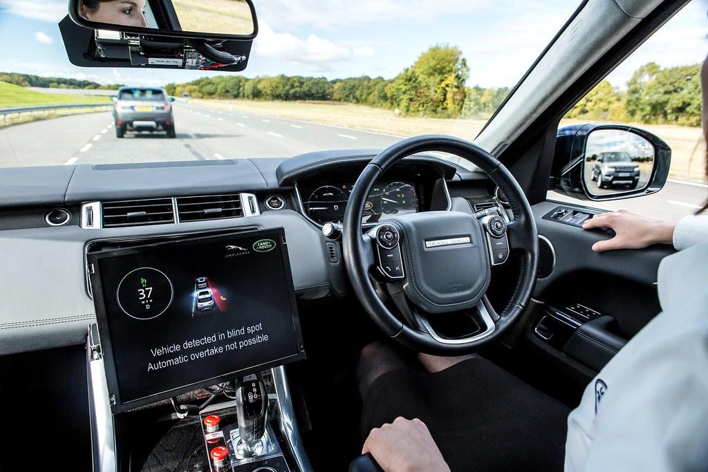 Jaguar Land Rover Drives Forward Connected and Autonomous … | Flickr