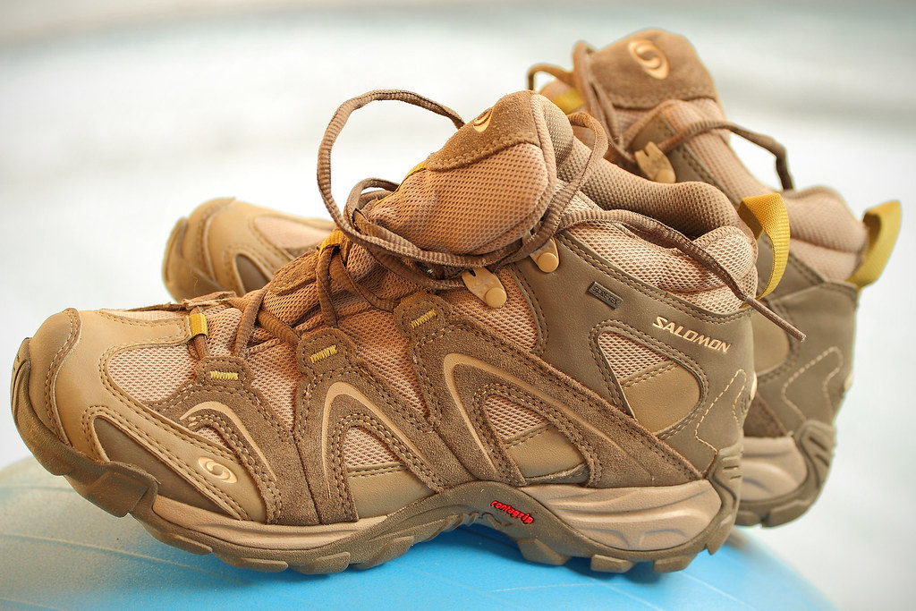 Conception innovante 6e491 3ef0b Les chaussures de randonnée : la Salomon Contagrip Gore-te ...