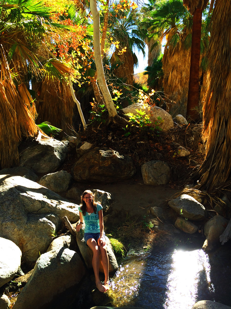 Hiking in the Indian Canyons, Palm Springs, CA