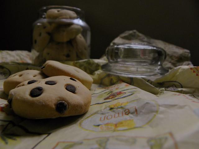 biscotti da colazione tipo gocciole (6)