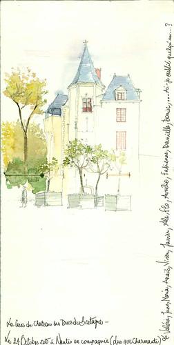 Dans la cour du chateau des Ducs de Bretagne à Nantes | by AlietteGou