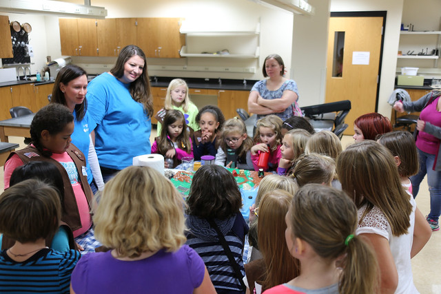 Girl Scout Water Badge Event