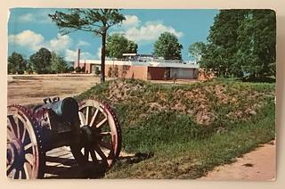 Yorktown, Virginia postcard