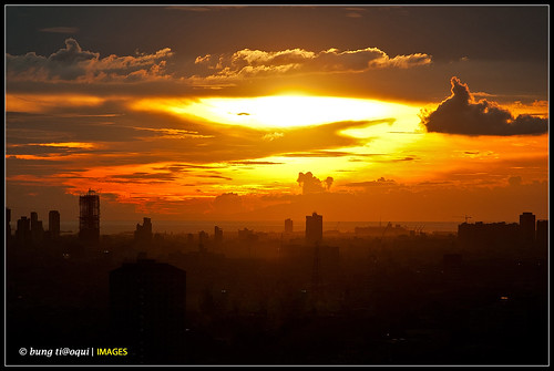 city sunset philippines pasig december2012