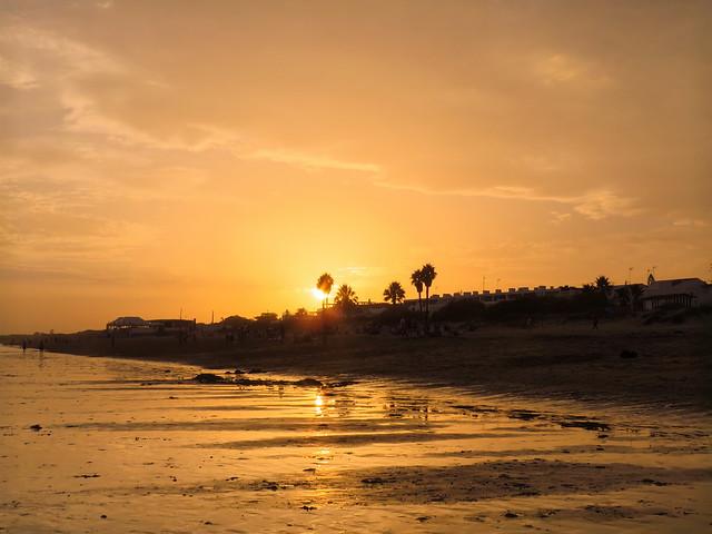 Atardecer en Islantilla - Huelva