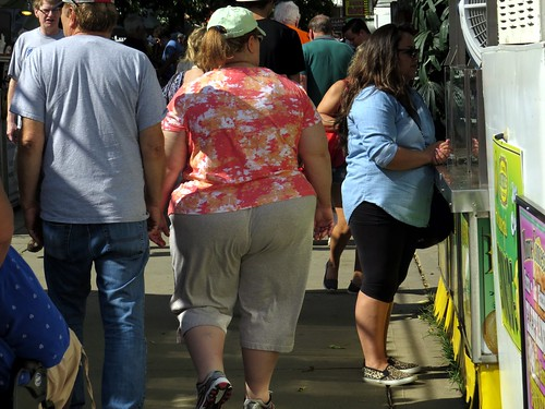 It was a beautiful day at the state fair.